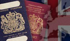 True blue passport REBORN: 500million project will replace EU document post-Brexit