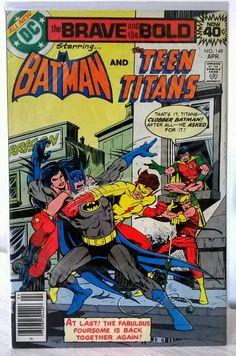 The Brave and the Bold No.149 Batman & The Teen Titans. DC Comics.