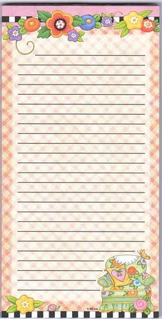 Printable Notepad Paper Mesmerizing Borders Free Kindergarden  Buscar Con Google  Stationery .