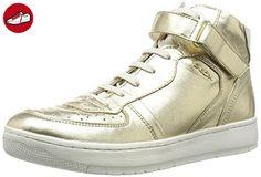 Geox  D Nimat A,  Damen Hohe Sneaker , Gold - Oro (Lt Gold) - Größe: 39 - Geox schuhe (*Partner-Link)