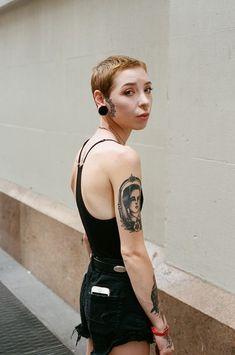 Meghan Shadis, New York, Tattoo Street Style by Alice Snape