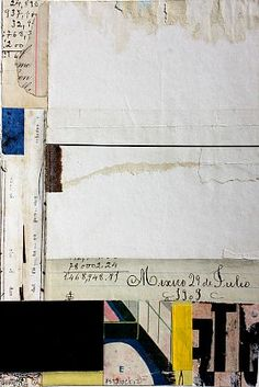 Cecil Touchon - 'Fusion Series #3210 - 2012 - collage on paper - 9x6 inches - Sears-Peyton Gallery
