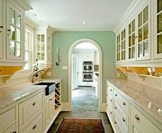 Traditional Home Farmhouse Sink Design, Pictures, Remodel, Decor and Ideas - page 20