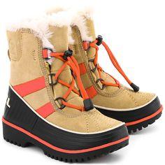 SOREL Tivoli II - Brązowe Zamszowe Śniegowce Dziecięce #mivo #mivoshoes #buty #shoes #sorel #kids #fashion #style #colors #colorful #new #collection #newcollection #stylish #streetlook #street #lifestyle #fall #winter #snow #2015 #2016