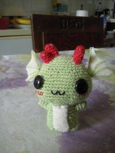 Little dragon amigurumi