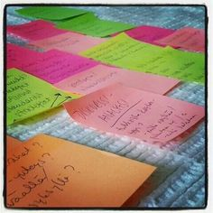 It's all clearer with post-its