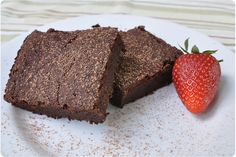 Zucchini brownies, gluten free made with coconut flour (and spice!)