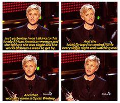 Ellen DeGeneres at People's Choice Awards…