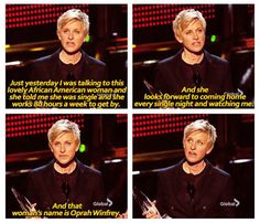 Ellen DeGeneres at People's Choice Awards…