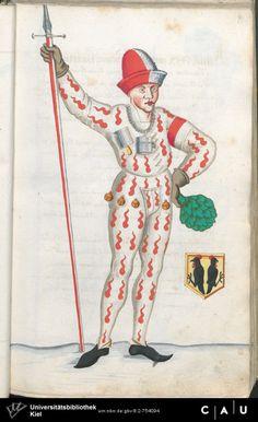 Nürnberger Schembart-Buch Erscheinungsjahr: 16XX  Cod. ms. KB 395  Folio 46