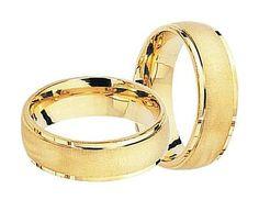 50020ddac14 Par de alianças. Peso Médio Aprox.  11 Material  Ouro 18k 750 Dimensões   5