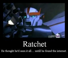 ratchet....
