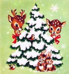Make one special photo charms for your pets, compatible with your Pandora bracelets. Images Vintage, Vintage Christmas Images, Old Christmas, Old Fashioned Christmas, Christmas Scenes, Christmas Animals, Retro Christmas, Vintage Holiday, Christmas Pictures