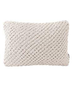 Love this 12'' x 16'' Knot Throw Pillow on #zulily! #zulilyfinds