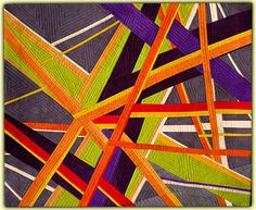 Ellin Larimer: Fiber Artist - Junctions and Pajama Party Series