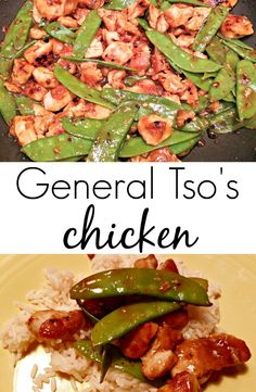 General Tso's chicken.  Make this take out favorite at home!