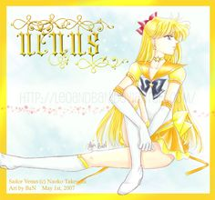 Sailor Venus - for SM Club by ~LeoAndBan on deviantART