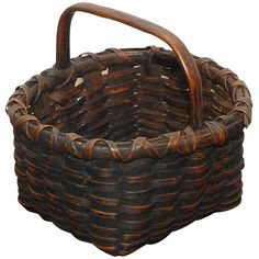 Hickory baskets were also everywhere