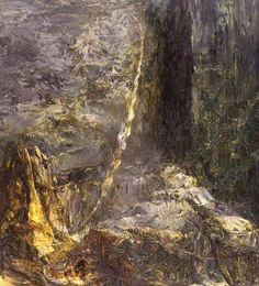 Mortal Coil by Thérèse Oulton British Council Collection Date painted: 1984 Oil on canvas, 234 x 213 cm Collection: British Council Collection