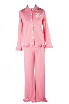 Southern Tots Cotton Candy Button Down Loungewear