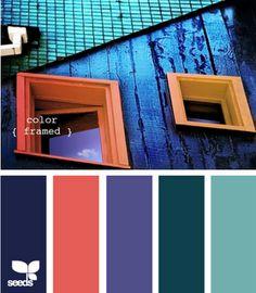 colour framed