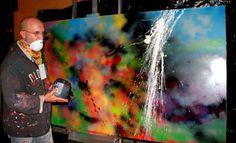 Norberto Moncarz para Kuwait en vidriera al arte