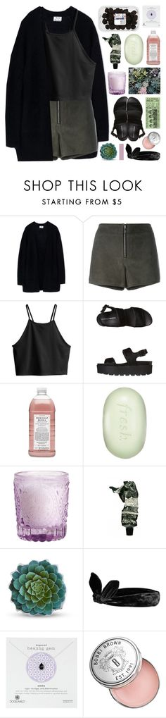 """testing tags // tesla's summer bash contest"" by symone-i ❤ liked on Polyvore featuring Acne Studios, rag & bone, H&M, Windsor Smith, Williams-Sonoma, Fresh, Aesop, Dot & Bo, Topshop and Dogeared"