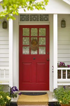 The main door sets the tone of the building. The front door is an integral part of a home's design. It offers protection from the outer environment and serves as a threshold to the inner world. When you close your front door you are in your own private world.