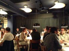 serien.lighting dinner at club michel www.serien.com