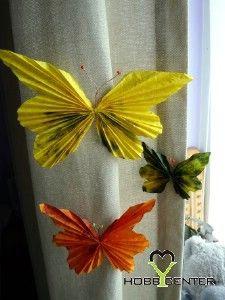 Tavaszi kreatív ötletek: Tavaszi pillangók  http://www.hobbycenter.hu/Evszakok/tavaszi-pillangok.html