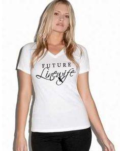 Linemen Rock - Future Linewife Missy VNeck, $19.99 (http://www.linemenrock.com/future-linewife-missy-vneck/)