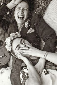 """""""Nothing is worth more than laughter. It is strength to laugh and to abandon oneself, to be light. Tragedy is the most ridiculous thing."""" - Frida Kahlo"""
