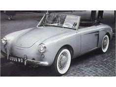 Renault 4CV cabriolet Brissoneau 1956-1959 | Auto Forever