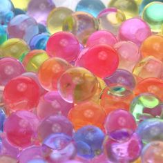 12 Bages Assorted Colors of Magic Growing Jelly Ball - just bought these for summer entertainment :)