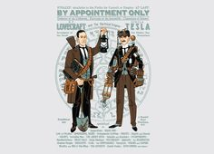 By appointment only, by Travis Pitts  http://www.threadless.com/product/3941/By_Appointment_Only