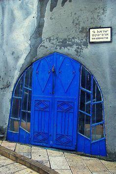 Israeli doorway.