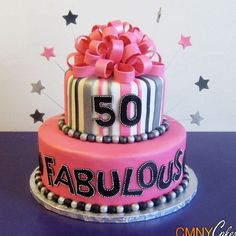 50th birthday cake ideas for women - Google Search