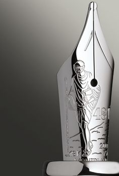 Mont Blanc Limited Edition Mahatma Gandhi Fountain Pen world.montblanc.com