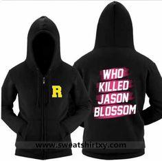 Riverdale hoodie with sayings who killed Jason Blossom xxxl sweatshirt