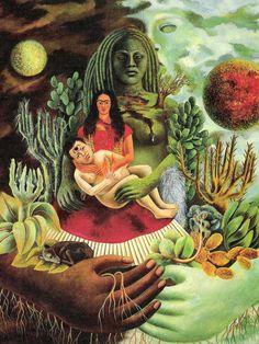 Frida Kahlo- my favorite Frida painting <3