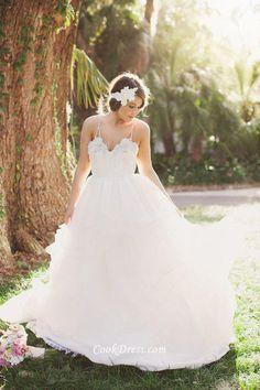 #beach fall bridal dresses #open back sexy wedding dress #a line sexy wedding…