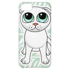 Cute White Scottish Fold Cat Cartoon iPhone 5C Cover http://www.zazzle.com/cute_white_scottish_fold_cat_cartoon_case-179715297968217877?rf=238194283948490074&tc=pfz