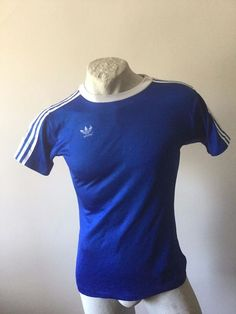 SCHALKE 04 ADIDAS MATCHWORN 1975 TRIKOT FUSSBALL VINTAGE MADE IN WEST GERMANY