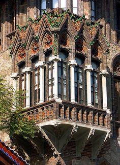 Casa Golferichs - Architect: Joan Rubio i Bellver. Photo taken in Sant Antoni, Barcelona, Catalonia, by Arnim Schulz