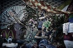 Zimbabwean-born Kudzanai Chiurai is an internationally acclaimed multimedia artist. Contemporary African Art, Contemporary Artists, Modern Contemporary, Black Presidents, Multimedia Artist, South African Artists, Out Of Africa, Photo Colour, Photomontage