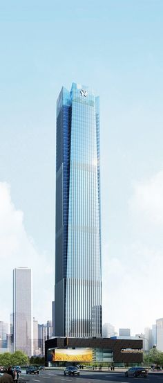Guangxi Finance Plaza, Nanning, China :: 68 floors, height 321m