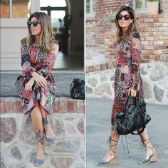 Zara Patchwork Long Midi Dress Zara Patchwork Dress. Size S. Composition 67% viscose 33% polyester. Zara Dresses Midi