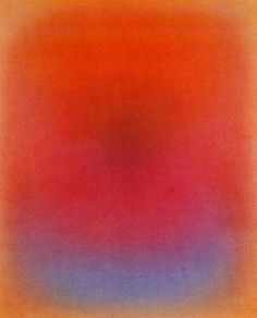 Dark Light Rose Gold, 1978 by Leon Berkowitz. Color Field Painting. abstract