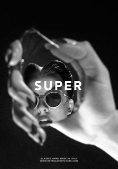 Nacho Alegre - RetroSuperFuture new collection - Super Sunglasses Advertising Photography, Editorial Photography, Fashion Photography, Fashion Advertising, Co Working, Pinterest Fashion, Fashion Project, Through The Looking Glass, Eye Art