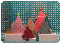 paper christmas tree ©www.celinevoisin.fr